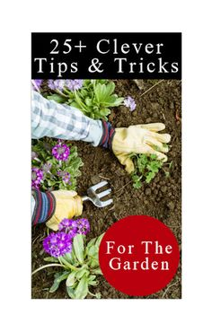 Lots of great gardening tips--some stuff I didn't know about!