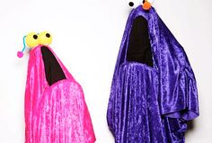 Halloween Costumes 2011  The Yip-Yips from Sesame Street.  Contact me for instructions on how to make this costume.