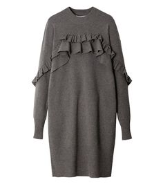 Grey, Sweater, Long Sleeve, Ca Knitwear Fashion, Knit Fashion, Hijab Fashion, Fashion Dresses, Fashion Looks, Womens Fashion, Fashion Vestidos, Fashion Details, Fashion Design
