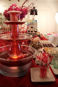 Red carpet summer prom on pinterest hollywood party for Decor 5 5 litre drink fountain