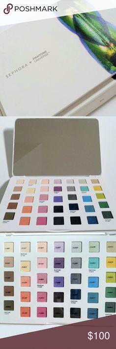 NIB RARE Sephora + Pantone Shades of Nature Beautiful eye shadow palette from Sephora Sephora Makeup Eyeshadow