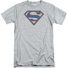 Superman - Blue & Orange Shield