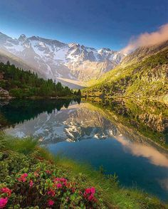 Aviolo Lake in Brescia, Italy