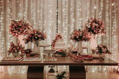 Danielle e Victor Brunch Wedding, Wedding Desserts, Our Wedding, Dream Wedding, Engagement Inspiration, Wedding Inspiration, Wedding Stage Decorations, Cake Table, Marie