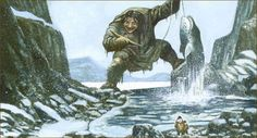 Arnaaluk- Inuit myth: a giantess that lived near or under the sea.