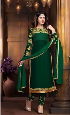 Buy Exclusive Embroidered straight suits salwar suit online in india @ best price at fmela.com