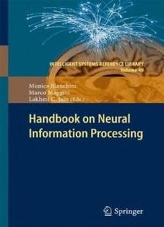 Handbook On Neural Information Processing (intelligent Systems Reference Library) free ebook