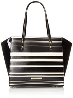 Anne Klein Nautical Wave Tote Bag - http://bags.bloggor.org/anne-klein-nautical-wave-tote-bag/