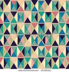 stock vector : Seamless geometric pattern
