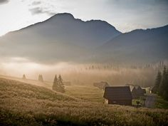 Tatra Mountains, Poland. Chocholowska Valley.