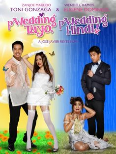 'Wedding Tayo Wedding Hindi' movie trailer featuring Toni Gonzaga and Eugene Domingo released! Hd Movies, Movies And Tv Shows, Movie Tv, Movies Online, Got Married, Getting Married, Pinoy Movies, Tagalog, Hd 1080p