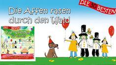Die Affen rasen durch den Wald - Die besten Partylieder für Kinder || Ki...