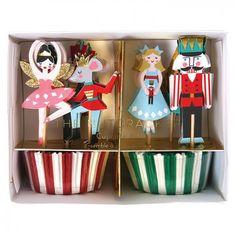 Nutcracker Cupcake Kit By Meri Meri