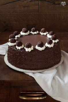 Torta tartufata - un'irresistibile goduria al cioccolato