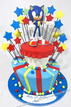 Sonic cake | Flickr - Photo Sharing!