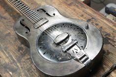 Mule Resonator Guitars | Handmade Steel Custom Resonator Guitars