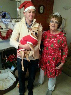 Linda and Oliver Christmas 2016