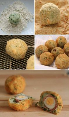 Eggs croquettes