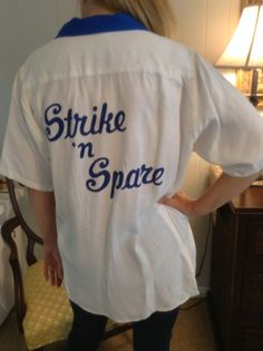 Vintage Bowling Shirt by MissDelaneous on Etsy, $30.00