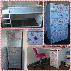 Ook voor de bekleding van een zelfgemaakt poppenhuis kun - Deco voor volwassen kamer ...