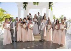 Huff wedding Oct 2012 at Barcelo Maya Palace.