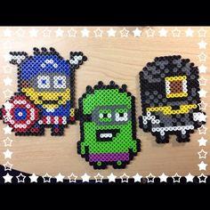 Minions perler beads by trinhyy45