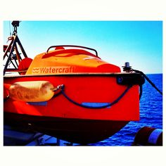 #watercraft #ferry # orange #boat #instagram