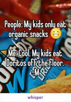 Lol....I'm all about eating healthy,  but let's face it...Kids are the easiest  to do so as well.....this is my kiddos!!!