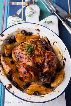 La cocina de Frabisa: Receta de Pollo Asado con Salsa Barbacoa, Mostaza y Miel