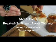 How to make Roast Garlic and Apple Chutney. I'm sure you could use dark agarve