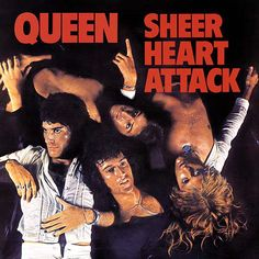"Queen: Freddie Mercury John Deacon Roger Taylor Brian May ALBUM: ""Sheer Heart Attack"" TRACK 11 Lyrics: Bring back, bring back Bring back that Leroy Brown - y. Queen Album Covers, Rock Album Covers, Classic Album Covers, John Deacon, Freddie Mercury, Brian May, Rock Posters, Discografia Queen, Rock Queen"