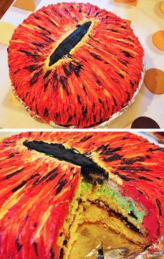 lotr eye cake.   I am doing this