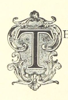 Letter T   Image taken from page 74 of 'Madeline Power. [A novel.]'