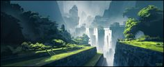 Waterfall Memories (Patreon IP02) by andreasrocha on DeviantArt