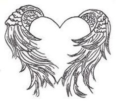 Heart+with+Angel+Wings+Tattoo | Heart with Wings Tattoo Designs