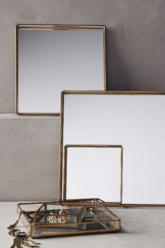 Mirrored Nesting Trays - anthropologie.com