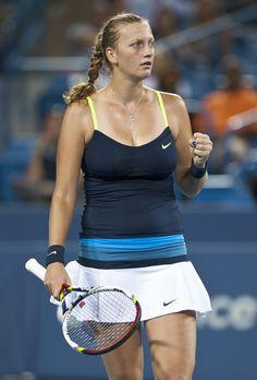 Petra Kvitova at W Open 2012 in Cincinnati #WTA