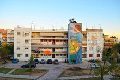 Street art in Volos Greece Art Articles, Urban Art, Greece, Street Art, Outdoor Decor, City Art, Greece Country