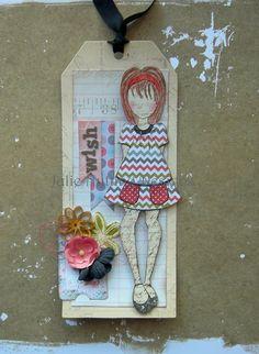Julie Nutting Designs Prima Doll Stamps