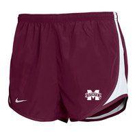 Mississippi State Bulldogs Nike Tempo Short
