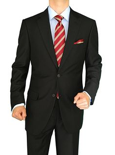 DTI DARYA TRADING GV Executive Wool/Silk suit perfect for year round use. Working sleeve button holes are featured and the lapel is notched. Slacks are flat front and lined to the knee. Silk Suit, Wool Suit, Pieces Men, Italian Men, Cashmere Wool, Jacket Buttons, Mens Clothing Styles, Suit Jacket, Suit Pants