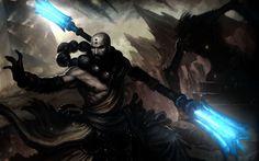 Diablo 3 Reaper of Souls Monk HD Wallpaper