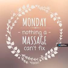 Afbeeldingsresultaat voor monday massage