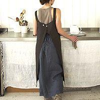 Fog Linen Work Apron and Skirt