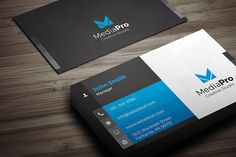 Modern Creative Business Card by Arslan on @creativemarket