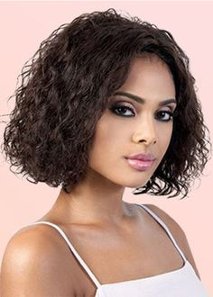 HUMAN NAlR Wigs lace front wigs black Natural Color Ariana Grande Brown And Red Hair A – davidwigs Black Hair Afro, Black Wig, Big Black, Short Bob Hairstyles, Afro Hairstyles, Remy Human Hair, Human Hair Wigs, Afro Hair Pieces, Wig Styling
