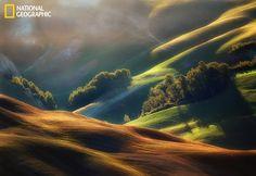 "This a beautiful shot: ""Crete Senese area of Tuscany."""