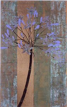 artnet Galleries: Agapanthus by Robert Kushner from Bellas Artes