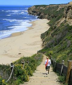 Cowell Ranch Beach, Half Moon Bay, California