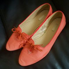 Urban Outfitters Cooperative Salmon Loafers Like new condition. Salmon pink. Urban Outfitters Shoes Flats & Loafers